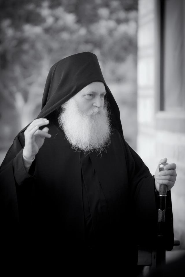 геронда Ефрем, игумен Ватопедской обители