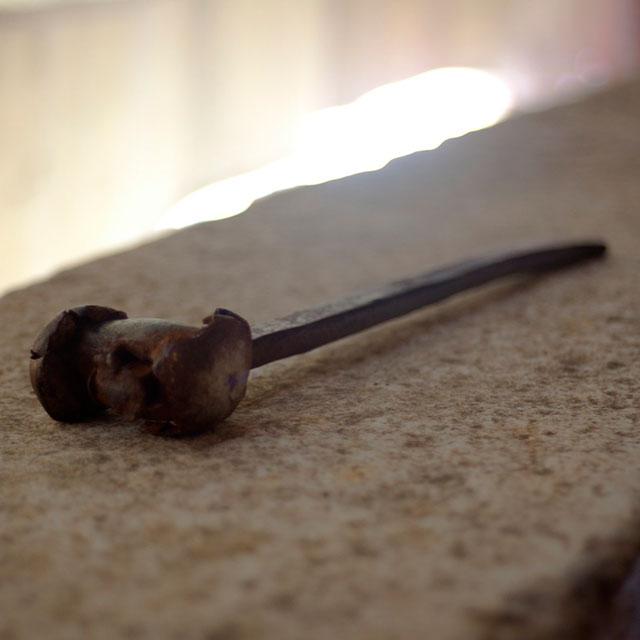 ватопедский монастырь в деталях: железное било призывало на службу многие поколения монахов