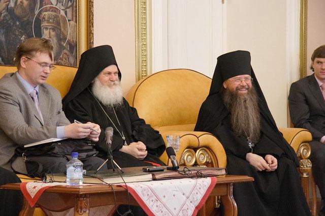 архимандрит Ефрем, настоятель Ватопедского монастыря на Святом Афоне