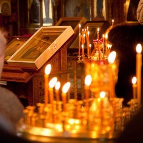 Молебен об освобождении отца Ефрема.
