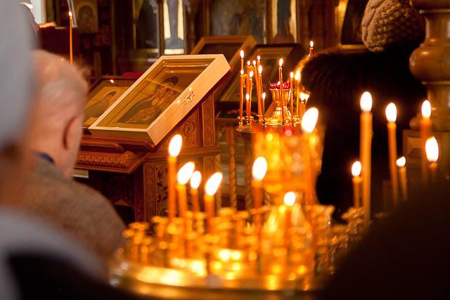 молебен об освобождении архимандрита Ефрема