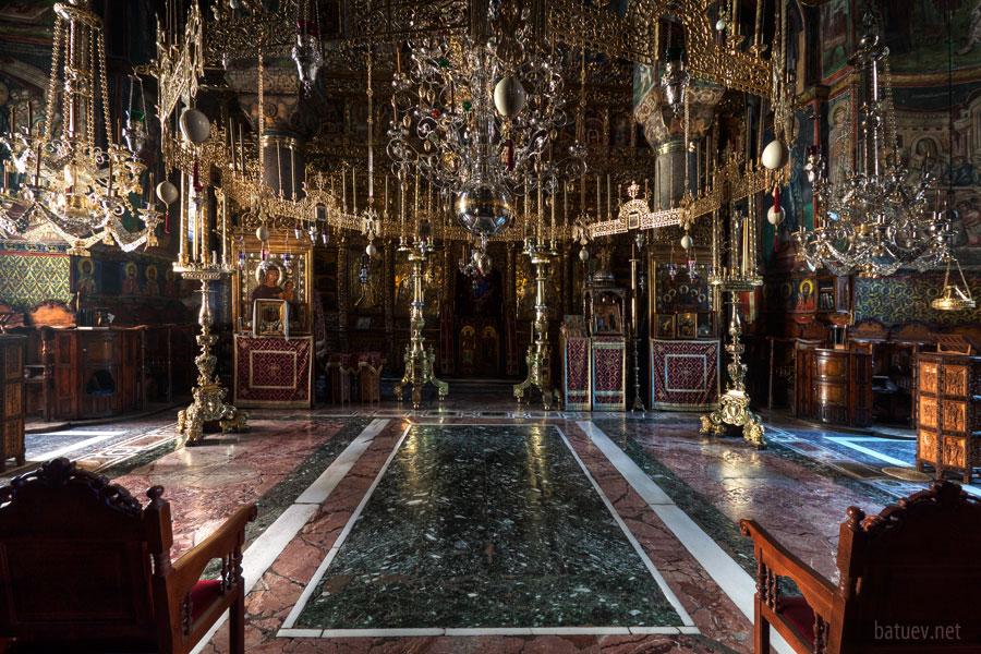 Соборный храм Ватопедского монастыря