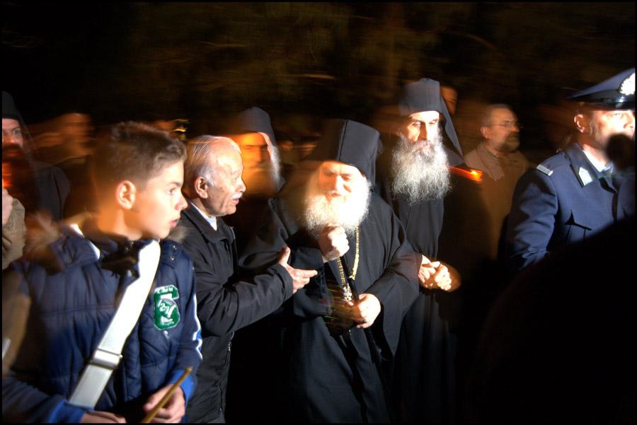 Идем в обитель. Встреча игема Ефрема в Ватопедском монастыре
