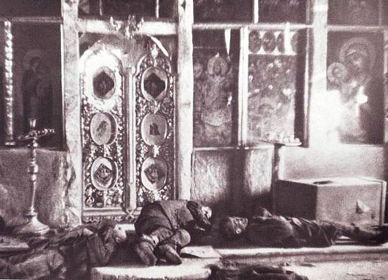 расстрелянные в храме