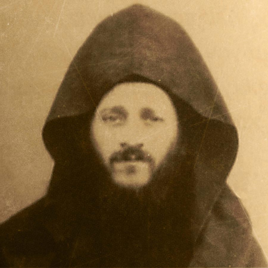 Геронда Иосиф Исихаст в молодости