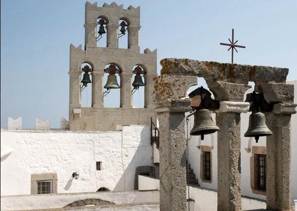 Монастырь на острове Патмос