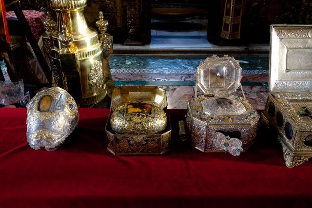 Святыни Ватопедского монастыря