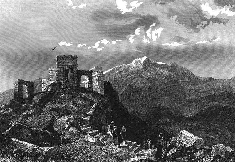 гора Синай, где Моисей получил десять заповедей Божиих