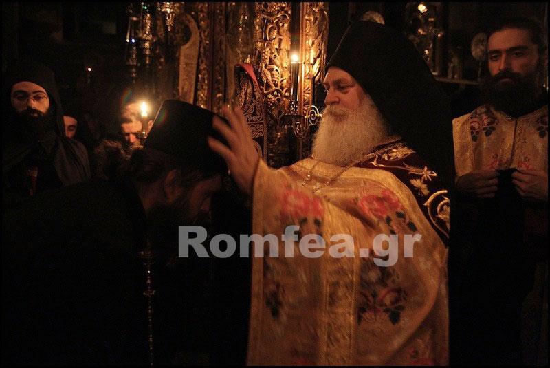 Рождество Христово в Ватопедском монастыре на Святом Афоне