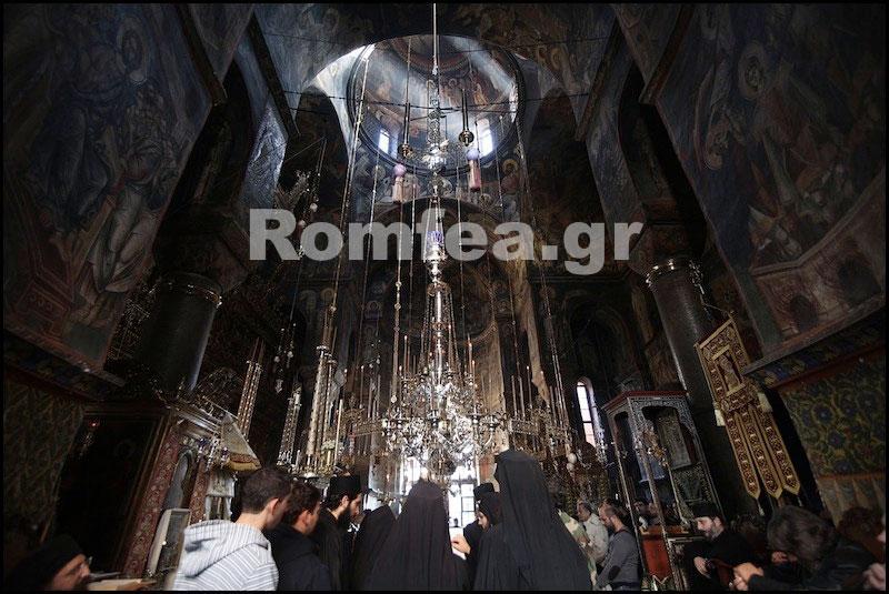 Как празднуют Рождество Христово на Афоне в Ватопедском монастыре