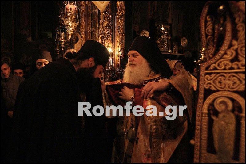 Рождество на Афоне в Ватопедском монастыре на Святом Афоне