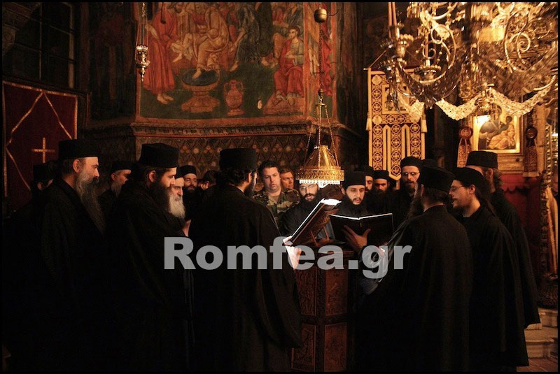 Рождество на Афоне в Ватопедском монастыре