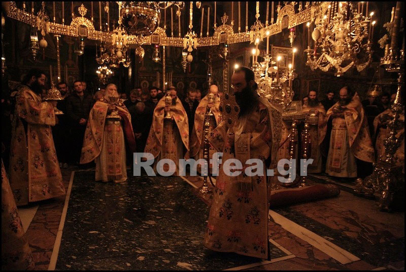 Рождество в Ватопедском монастыре