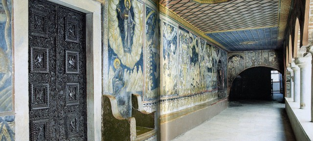 Фрески монастыря Дионисиат. Апокалипсис.