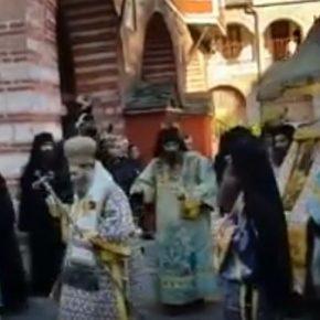 ПРАЗДНИК КРЕЩЕНИЯ ГОСПОДНЯ В ВАТОПЕДЕ - 2018. Видео